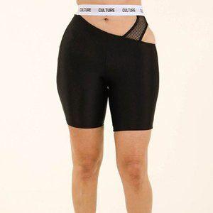 Culture High Waist Biker Shorts
